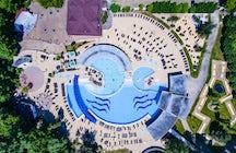 Băile Felix Resort en las estribaciones de los Cárpatos