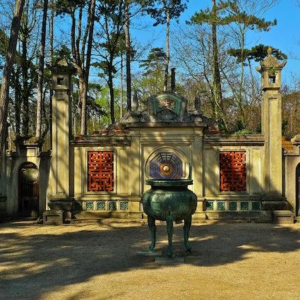 Jardin d'Agronomie Tropical  - Paris well-kept secret