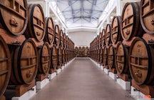 Die Destillerie KVINT in Tiraspol - das ikonische Symbol Transnistriens.