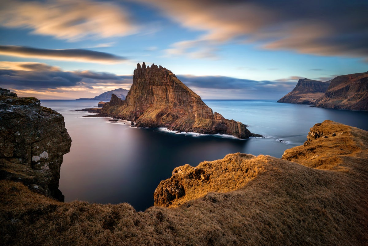 Exploring Vagar Island on the Faroe Archipelago