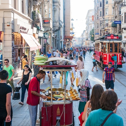 The best shopping streets in İstanbul