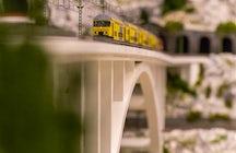 Le musée Backo Mini Express à Zagreb - plus d'un kilomètre de rails