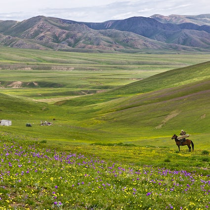 Experiencing the Kazakh spirit - Assy plateau