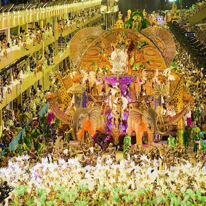 Rio de Janeiro als carnavalshoofdstad van de wereld