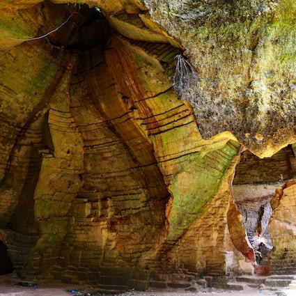 Tolkien's Moria in Madura Island: Arosbaya stone quarry