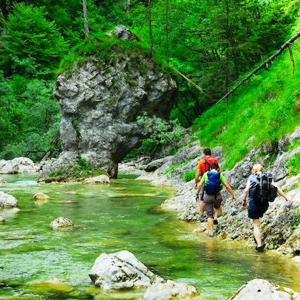 An adventure in the untouched nature of Iška gorge