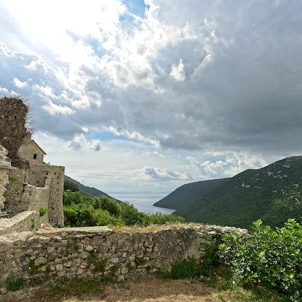 Superbes points de vue en Istrie : Gračišće et Plomin