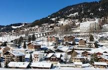 Skigebieden in het kanton Vaud; Leysin