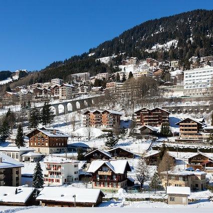 Estações de esqui no Cantão de Vaud; Leysin
