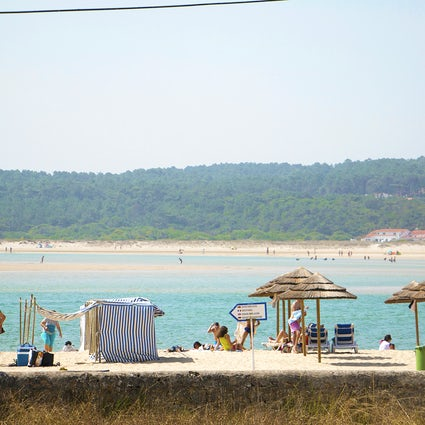 Foz do Arelho: contemplando la hermosa Lagoa de Óbidos