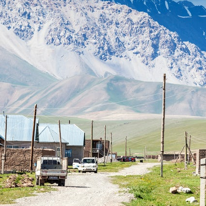 Fünf Höhenziele in Kirgisistan