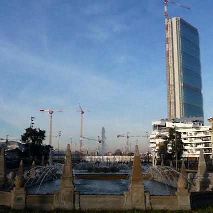 Milan's skyline: Allianz Tower