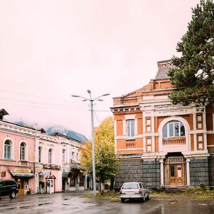 Museo de Historia Local de Borjomi, uno de los más antiguos de Georgia