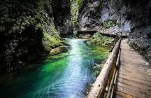Die Schönheit der Natur in der Vintgar Gorge
