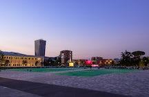 Cultural sites in Tirana