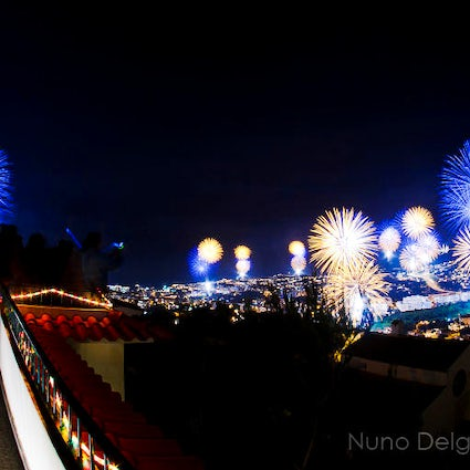 New Year Lights in Madeira