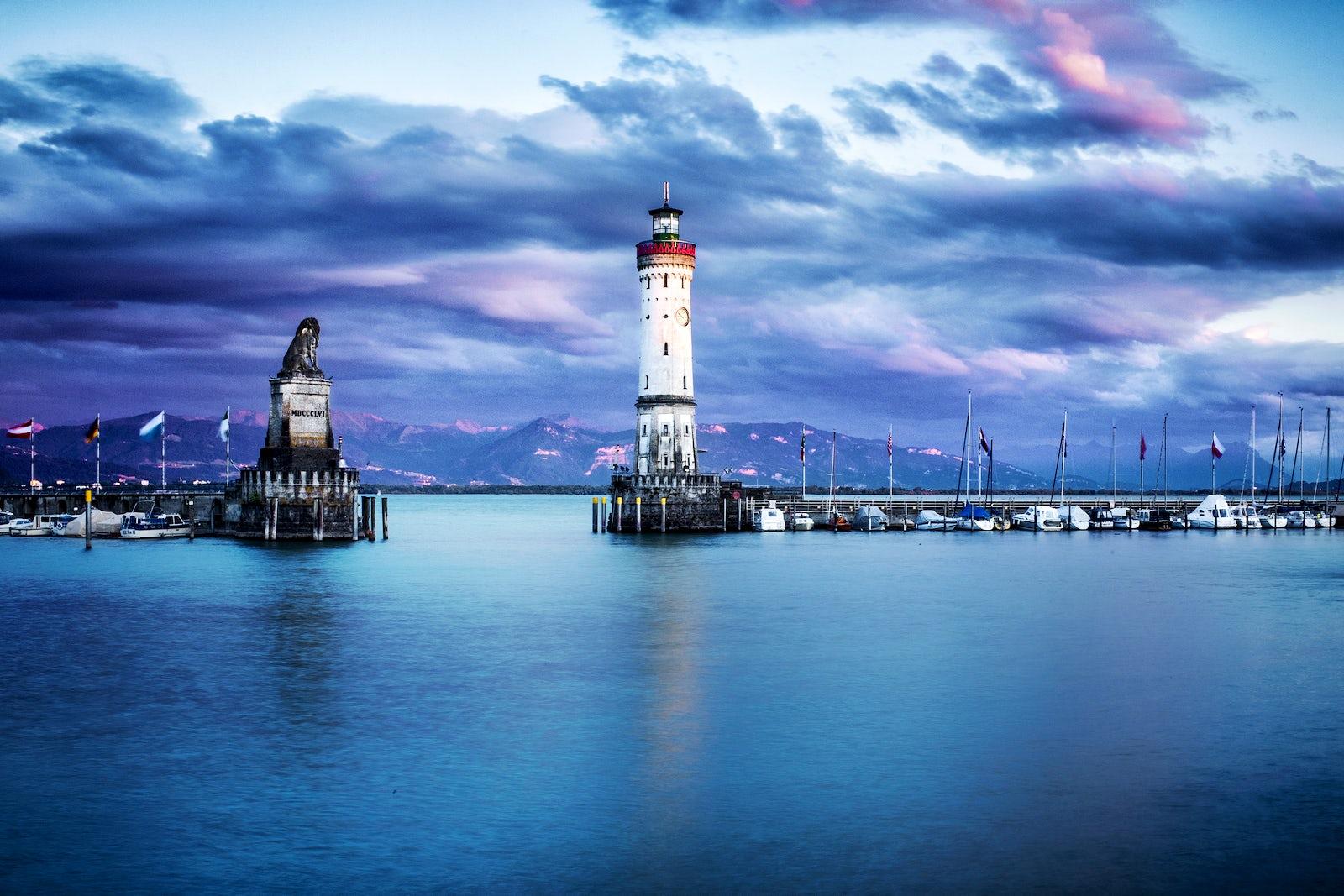 Lago Di Costanza Germania Cartina.5 Fusi Orari 3 Paesi 2 Nomi 1 Lago Lago Di Costanza