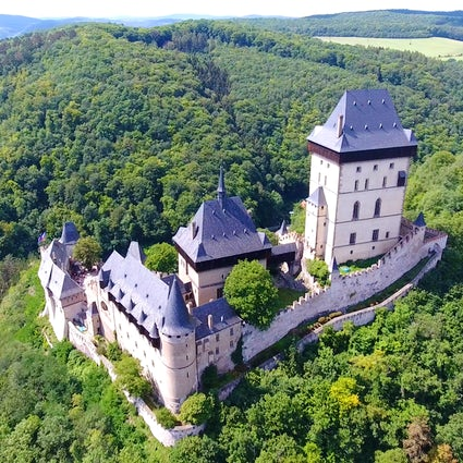 Le château de Karlstejn, une ambiance de conte de fées Tchèque