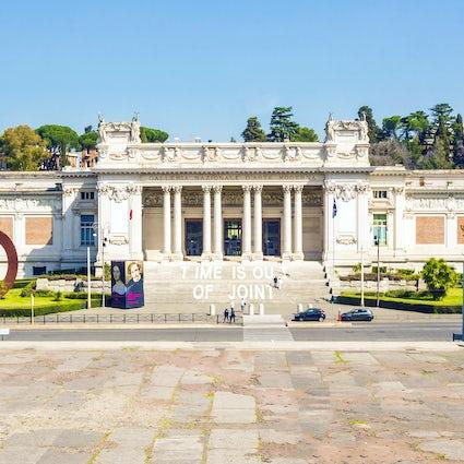 Il più bel museo di Roma: La galleria nazionale d'arte moderna