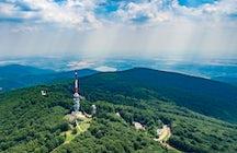 Kékestető, the highest point of Hungary