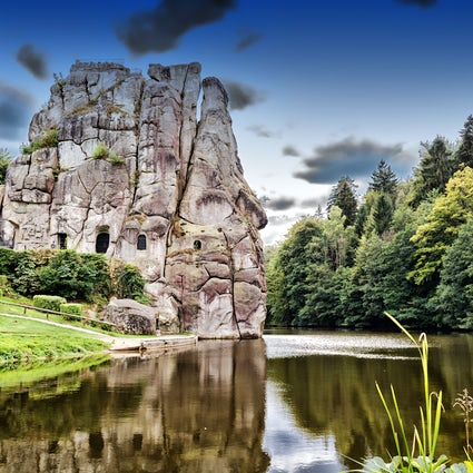 Explore the 70 million year old Teutoburg Forest