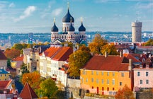 Una magnífica catedral en el corazón de Tallin: Alexander Nevsky