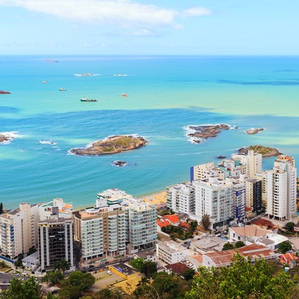 Strandzeit in Vila Velha, Espírito Santo