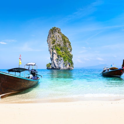 Sea, sand and karst: Phra Nang Beach, Krabi