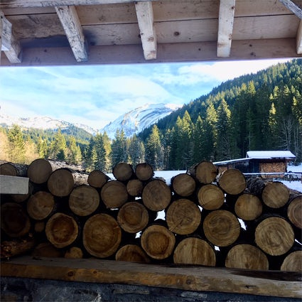 Walks around Morzine - l'Erigné & la Mouillette