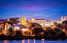 Bar-hopping in the Upper Town in Minsk
