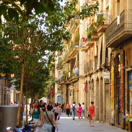 The artsy area of Barcelona - El Raval