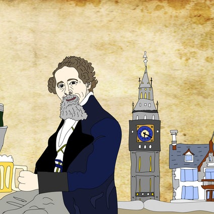 ​ Charles Dickens exposes the pub scene of London
