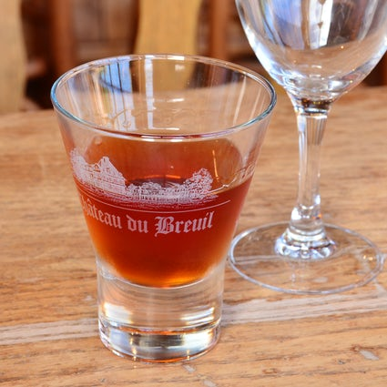 Pommeau, a tasty mix of apple juice and calvados