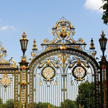 Parks and gardens in Lyon: Tete d'Or