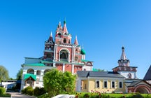 Savvino-Storozhevsky Monastery in Zvenigorod, a place of royal pilgrimages