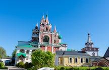 Savvino-Storozhevsky Monastery in Zvenigorod, a place of royal pilgrimages