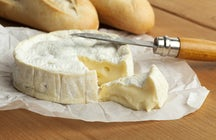Camembert: a deliciously soft cheese from Normandy