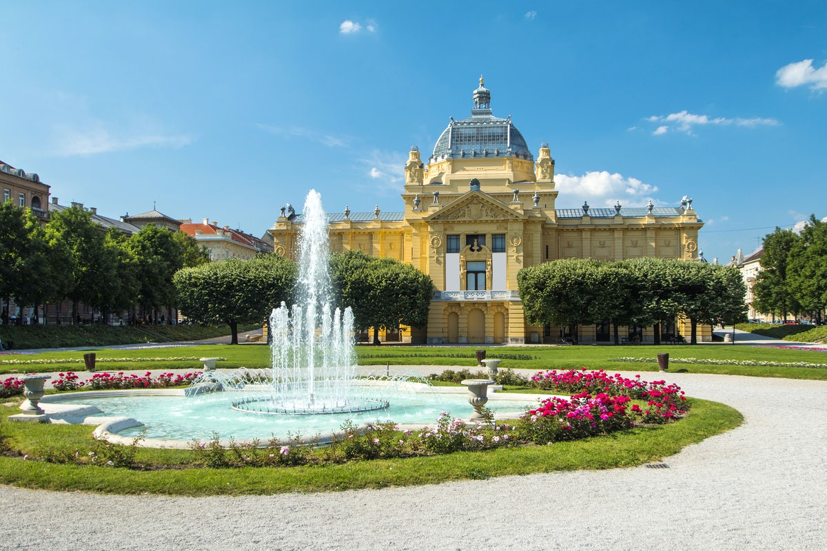 Beautiful towns and villages in City of Zagreb